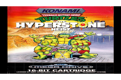 Teenage Mutant Hero Turtles: The Hyperstone Heist (Sega ...