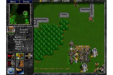 Warcraft 2: Tides of Darkness - Human Campaign Gameplay ...