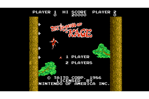 Legend of Kage (NES) Game Hub – Nintendo Times