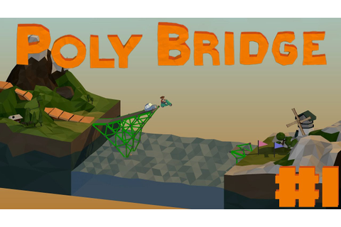 Poly Bridge | Random Game Sunday | Weird Level Glitch ...