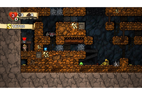 Spelunky Review (PS Vita) | Push Square