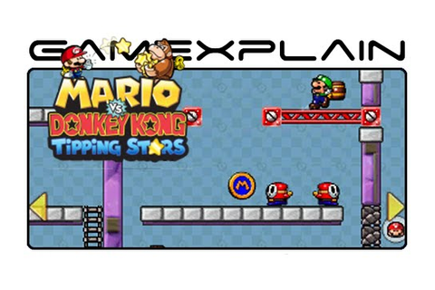 Mario vs Donkey Kong: Tipping Stars - Level Creator ...