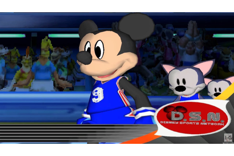 Disney Sports Basketball - GameCube Gameplay (720p60fps ...