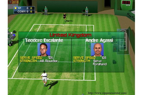 Free Download Agassi Tennis Generation PC Games - Rip ...