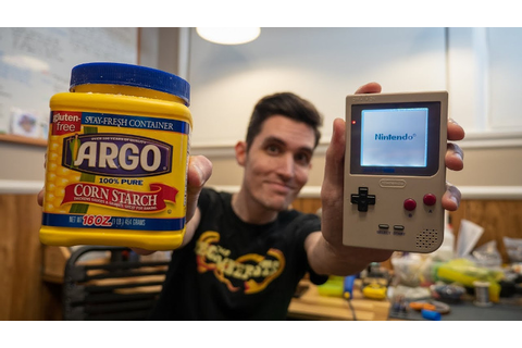 Corn Starch Fixes A Game Boy Screen | Hackaday