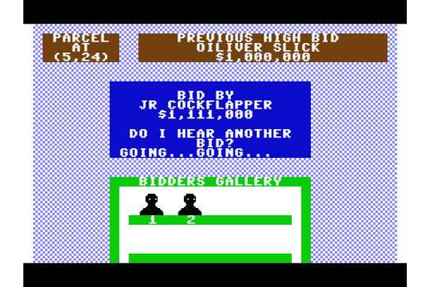 C64 Game - Oil Barons - YouTube