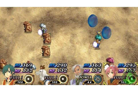 The Legend of Heroes III Song of the Ocean ISO PPSSPP ...