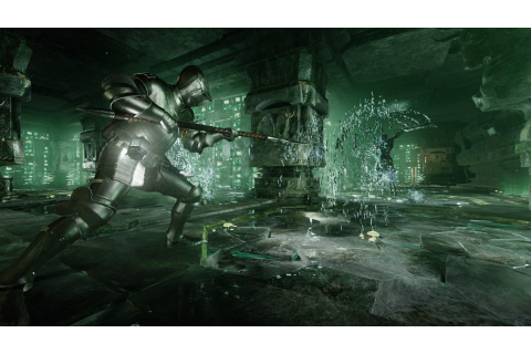 Deep Down screenshots show Green Dungeon - Gematsu