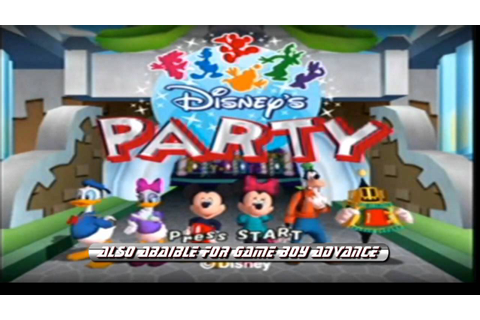 Adam's Game Review: Disney's Party for Gamecube (HD) - YouTube