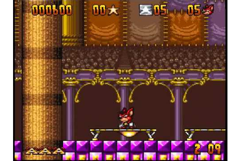 Aero the Acrobat (Super Nintendo) - YouTube