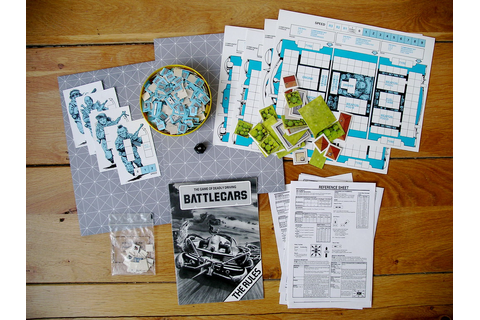 Battlecars contents | Early 1980s Games Workshop boardgame ...