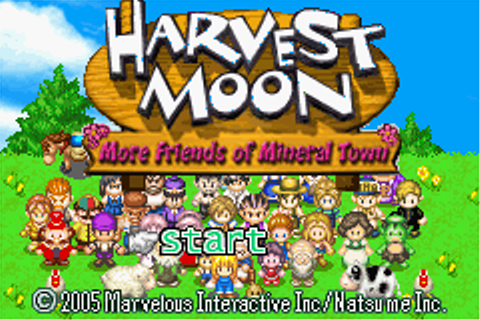 GBA- Roms en español: [ROM-VBA] Harvest Moon - More ...