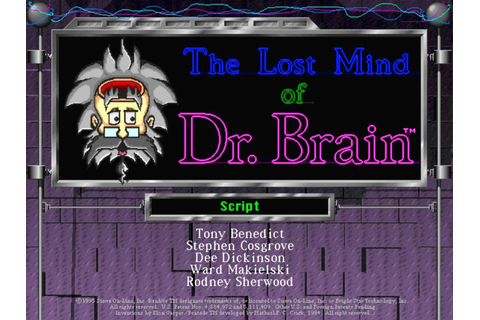 The Lost Mind of Dr. Brain - YouTube