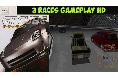 GT Cube - 3 Races Gameplay GC HD - YouTube