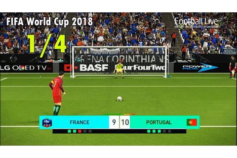 PES 2018 | FIFA World Cup 2018 | FRANCE vs PORTUGAL ...