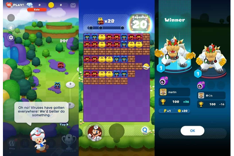 Dr. Mario World by Nintendo for Android: first look ...