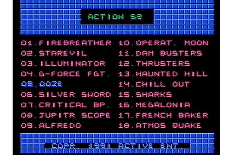 Download Action 52 (NES) - My Abandonware