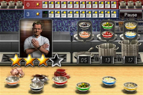 Blog Game: iOS Games Hell's Kitchen VS