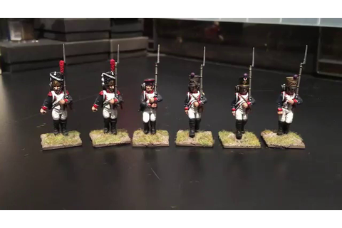 Warlord Games French Infantry - YouTube