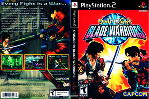 Onimusha: Blade Warriors (PS2) - The Cover Project
