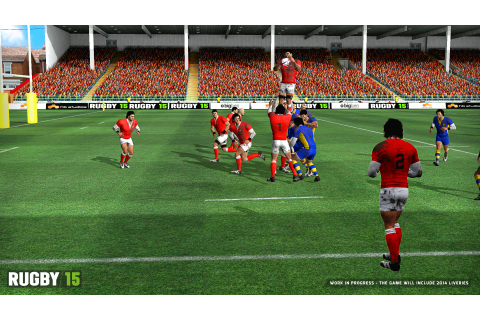 Rugby 15 [Online Game Code]