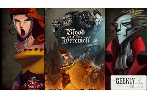 Blood of the Werewolf Review - Geekly Game Lab - YouTube