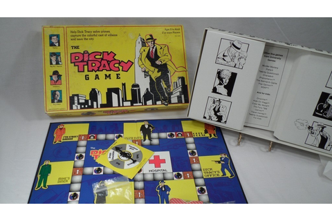 Dick Tracy Board Game *Excellent Condition!* 1990 ...