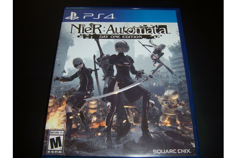 Replacement Case (NO GAME) Nier Automata : PlayStation 4 ...