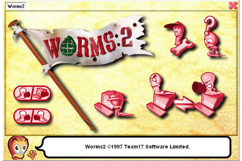 The gallery for --> Worms 2 Game