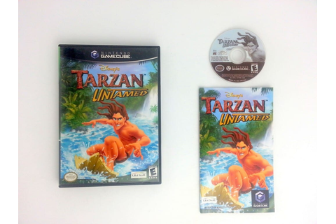 Tarzan Untamed game for Gamecube (Complete) | The Game Guy