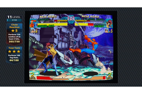 Marvel Vs Capcom Origins launch trailer & screens ...