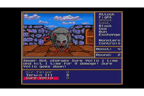 Might and Magic II: Gates to Another World ... (Sega ...