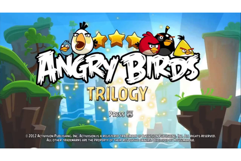Angry Birds Trilogy - Title Theme - YouTube