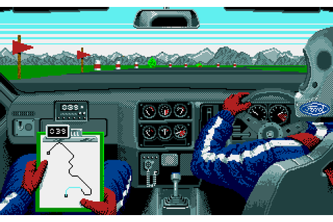Lombard RAC Rally (1988) by Red Rat Amiga game
