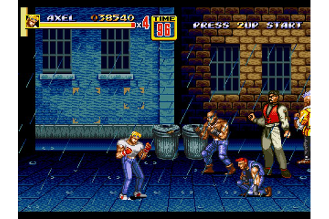 streets-of-rage-2-axel-rain-streets » SEGAbits - #1 Source ...