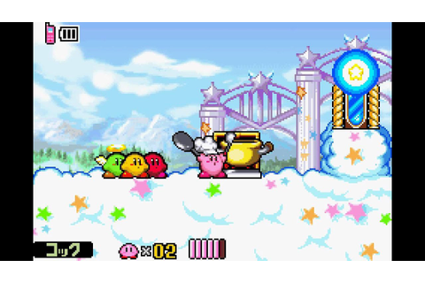 "Kirby & The Amazing Mirror ~ Cook Glitch ""follow-up ..."