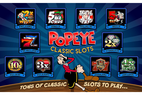 POPEYE Slots ™ Free Slots Game - Android Apps on Google Play