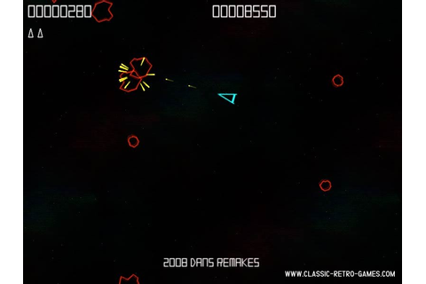 Download Asteroids (2) & Play Free | Classic Retro Games