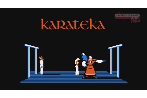Karateka (Apple II) - Video Game Years 1984 - YouTube