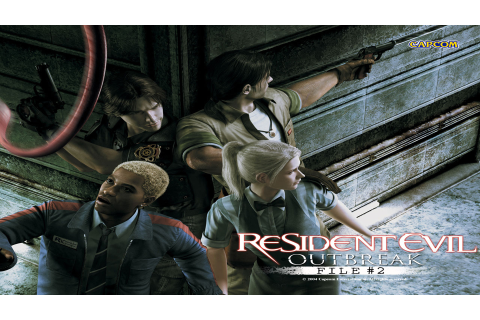 Resident Evil Outbreak: File #2 HD Wallpaper | Background ...