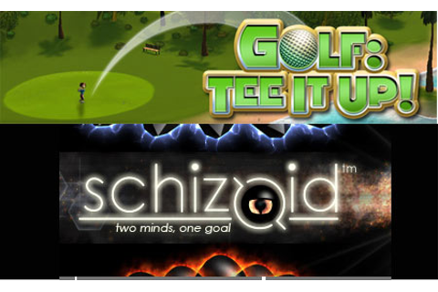 Schizoid and Golf: Tee It Up! Games to Hit Xbox Live ...