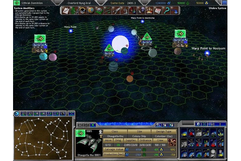 Space Empires V screenshots | Hooked Gamers