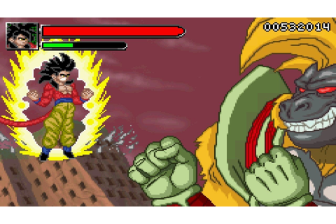 Dragon Ball GT Transformation - SSJ4 Goku vs Great Ape ...