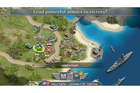 1942 Pacific Front - a WW2 Strategy War Game for Android ...