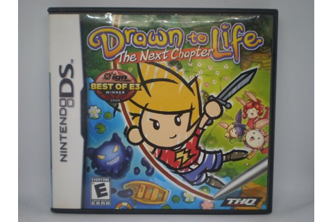 DRAWN TO LIFE THE NEXT CHAPTER VIDEO GAME NINTENDO DS | eBay