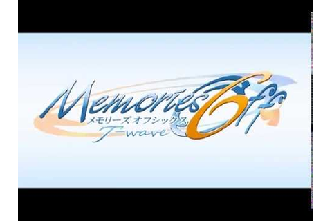 PS2 Memories Off 6 ~T wave~ - YouTube