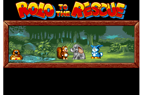 Rolo to the Rescue (1992) by Vectordean Mega Drive game