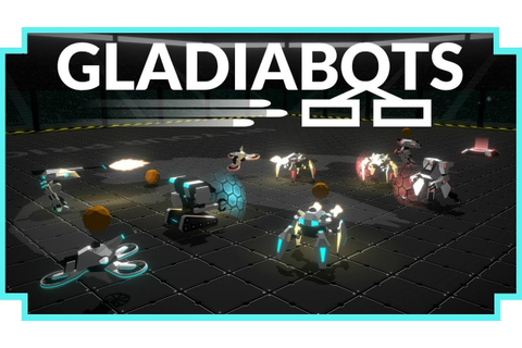 Gladiabots - (Programmable Robot Battle Arena Game) - YouTube