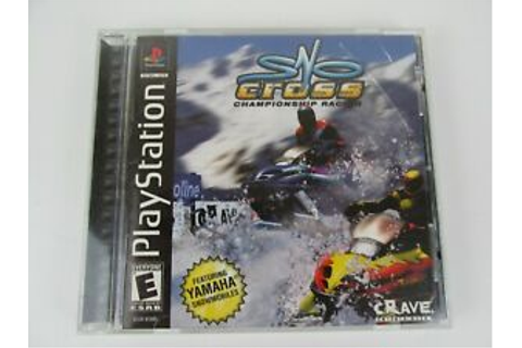 Sno-Cross Championship Racing (Sony PlayStation 1, 2000 ...