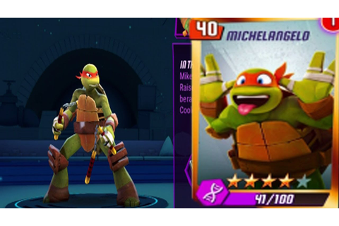 Teenage Mutant Ninja Turtles: Legends- Michelangelo Solo ...